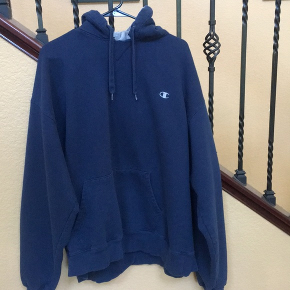 4b31cac0986c Champion Other - Champion Navy Blue Hoodie Men s XXL